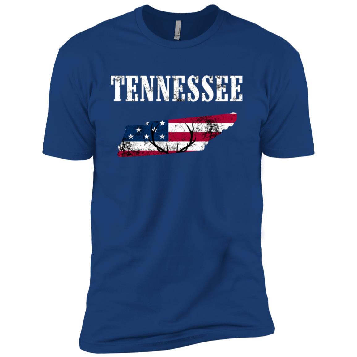 Tennessee Deer Hunter Deer Hunting Hunters Gift Men Short Sleeve T-Shirt