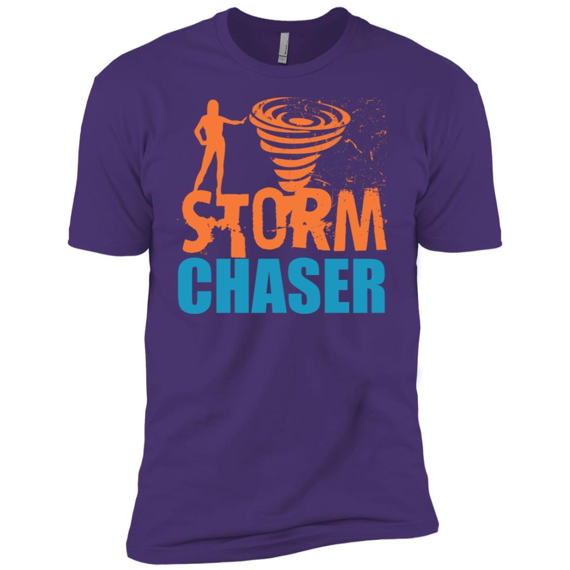Storm Chaser Weather Tornado Hurricanes Meteorologist Men Short Sleeve T-Shirt