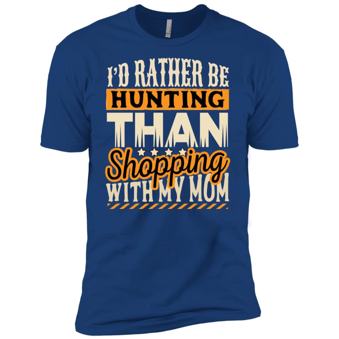 Rather be Hunting Men Short Sleeve T-Shirt