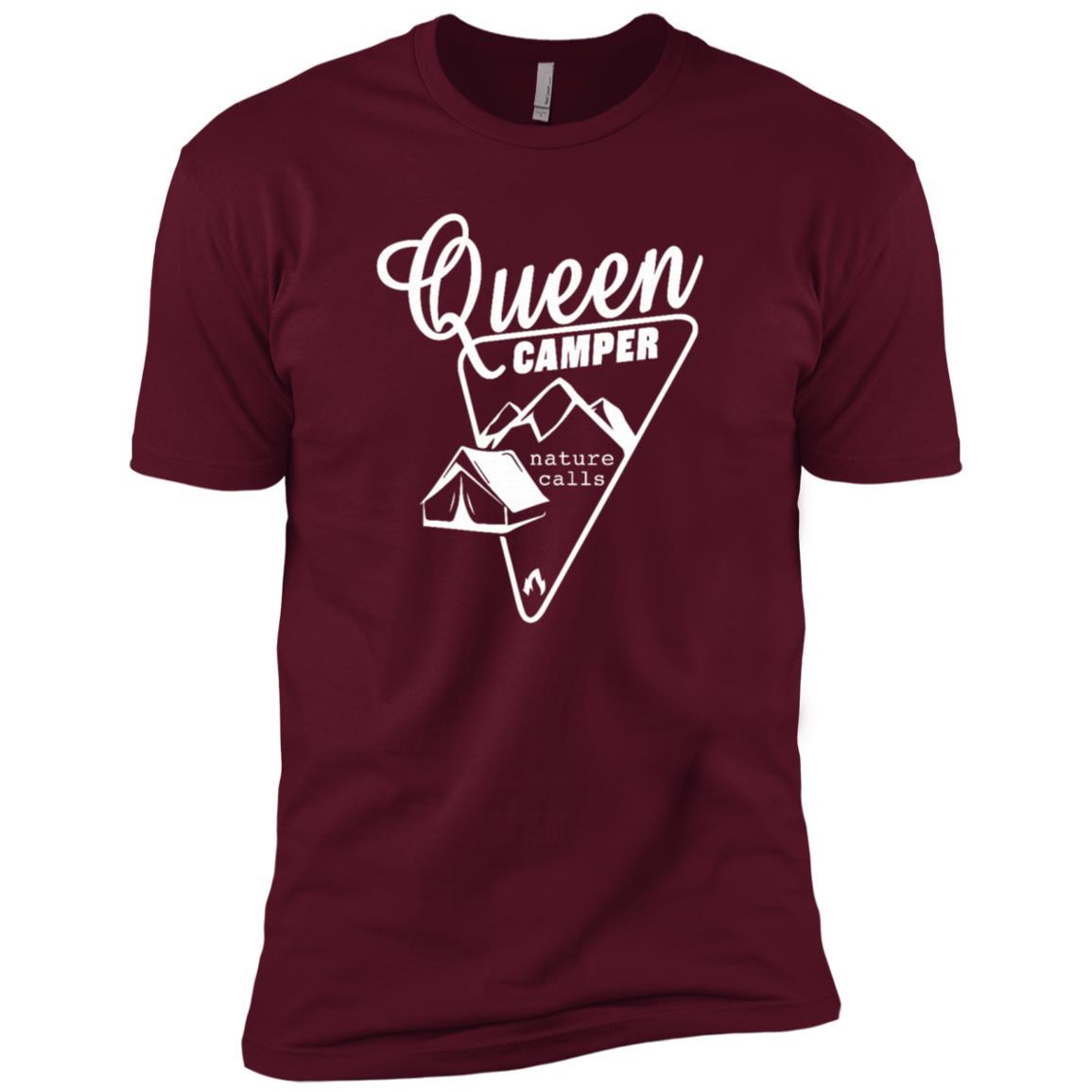 Queen Camper – Hunting Outdoor Men Short Sleeve T-Shirt