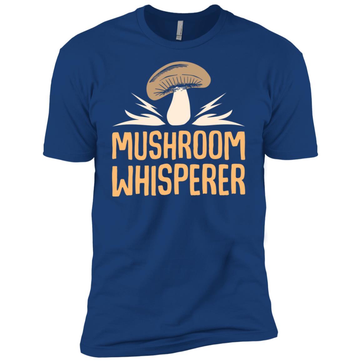 Mushroom Whisperer Funny Fungi Men Short Sleeve T-Shirt