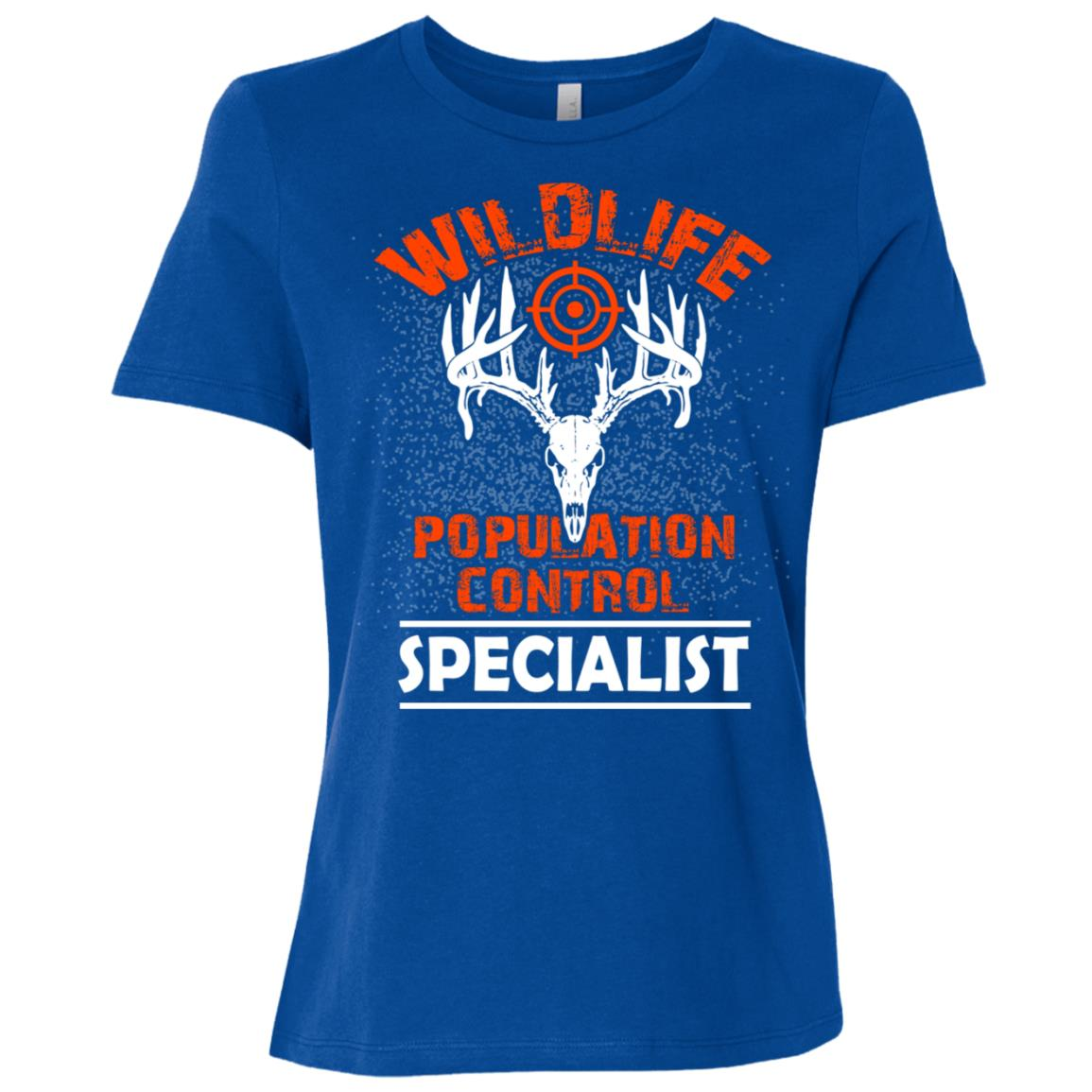 Wildlife Population control specialist for a hunter Women Short Sleeve T-Shirt