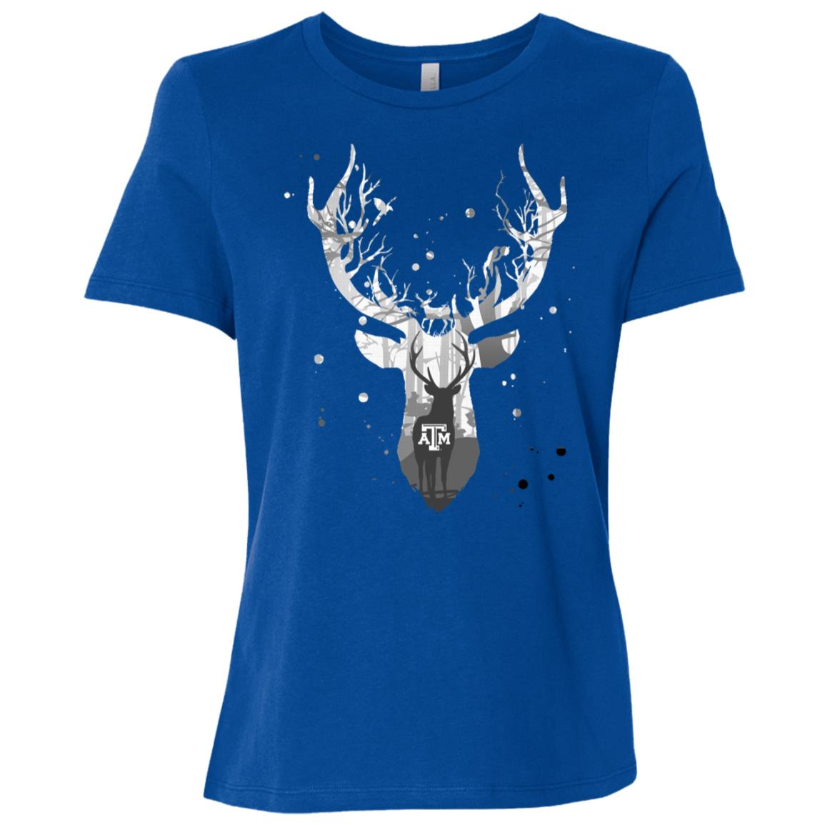 Texas A&m Aggies Hunting – Deer Inside Women Short Sleeve T-Shirt