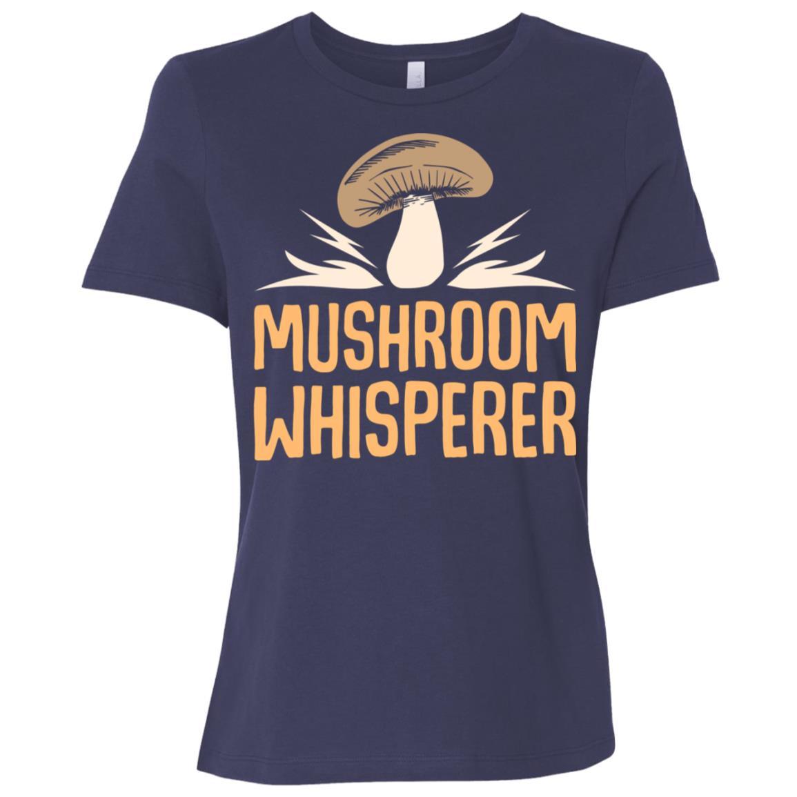 Mushroom Whisperer Funny Fungi Women Short Sleeve T-Shirt
