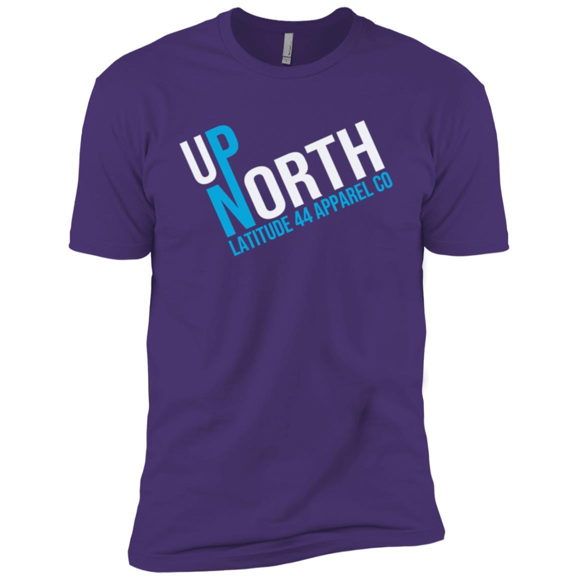 Up North On TIlt Classic Vintage Men Short Sleeve T-Shirt