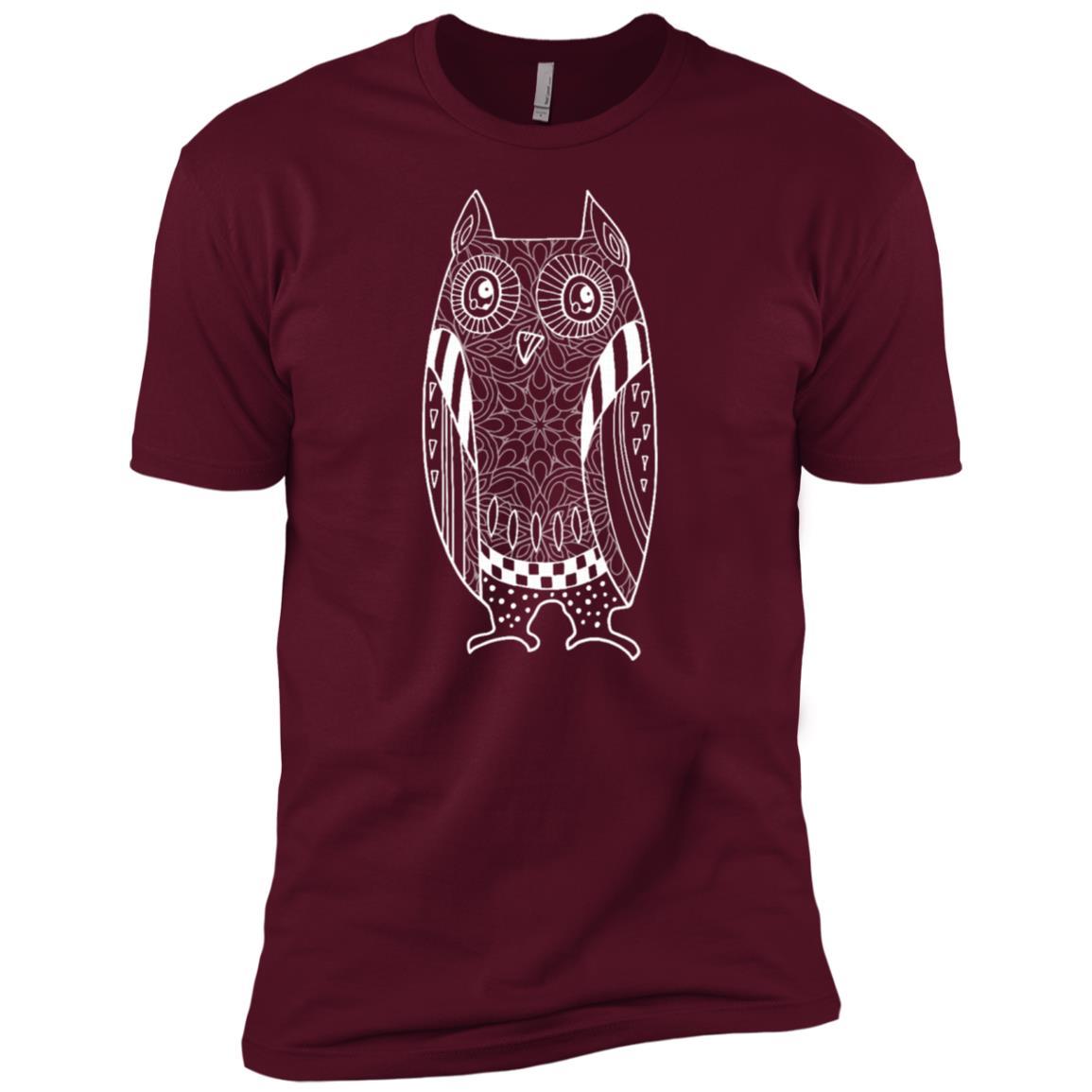 Cute Unique Trendy & Modern Hunting Owl Gift Men Short Sleeve T-Shirt