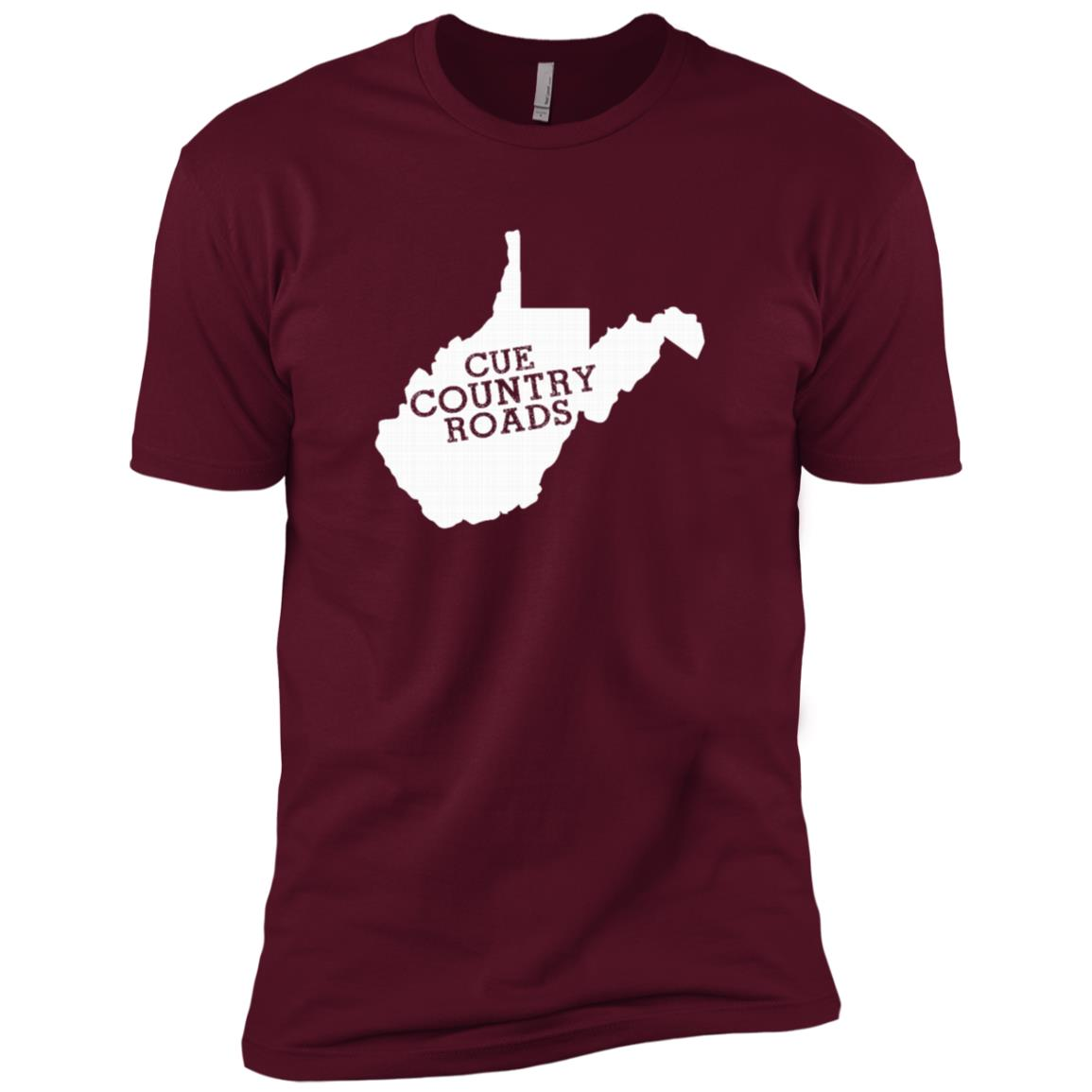Cue Country Roads for Men Short Sleeve T-Shirt