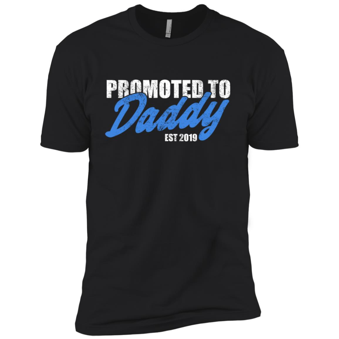 Promoted To Daddy Est. 2019 Men Short Sleeve T-Shirt
