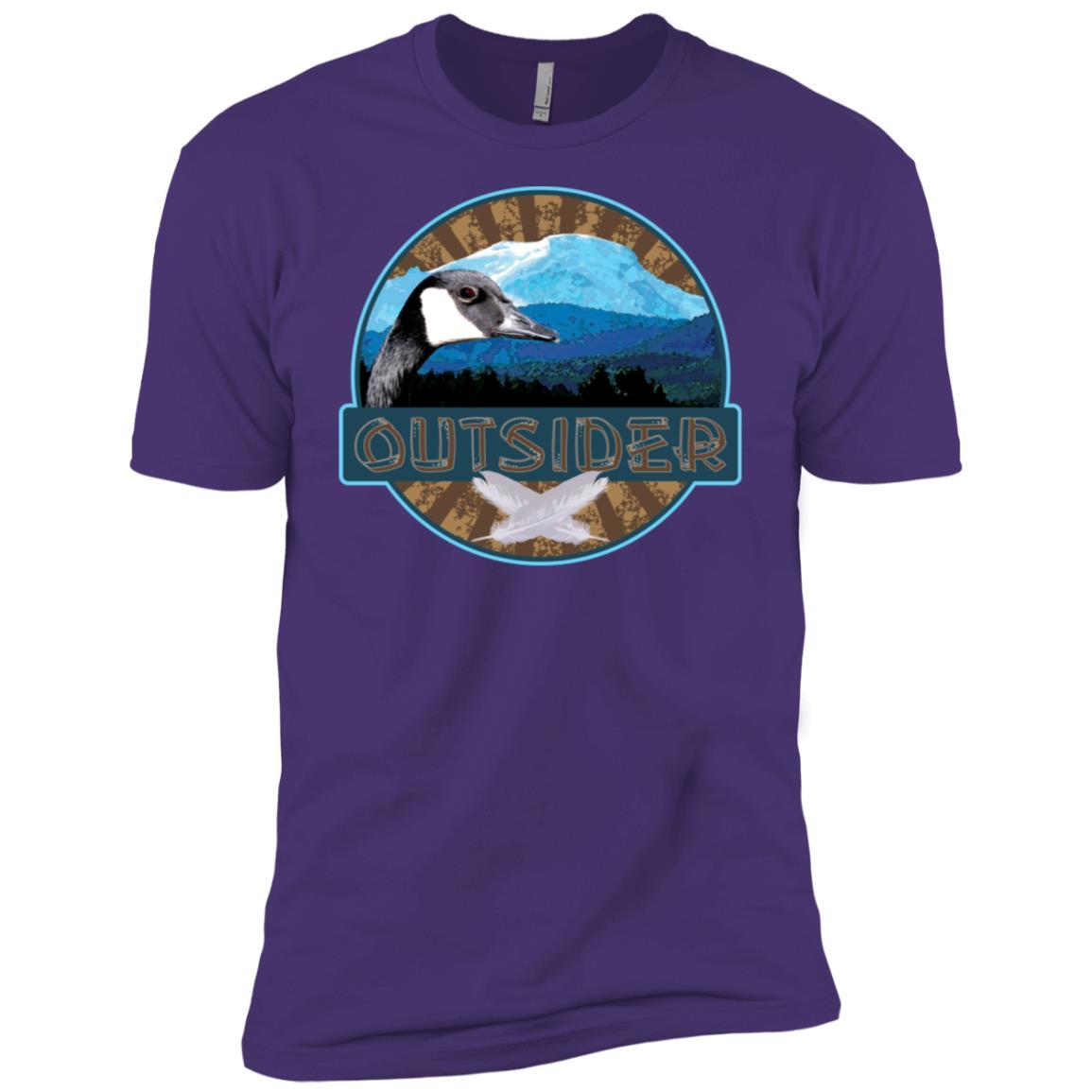 Outdoor Enthusiast d Outsider Men Short Sleeve T-Shirt