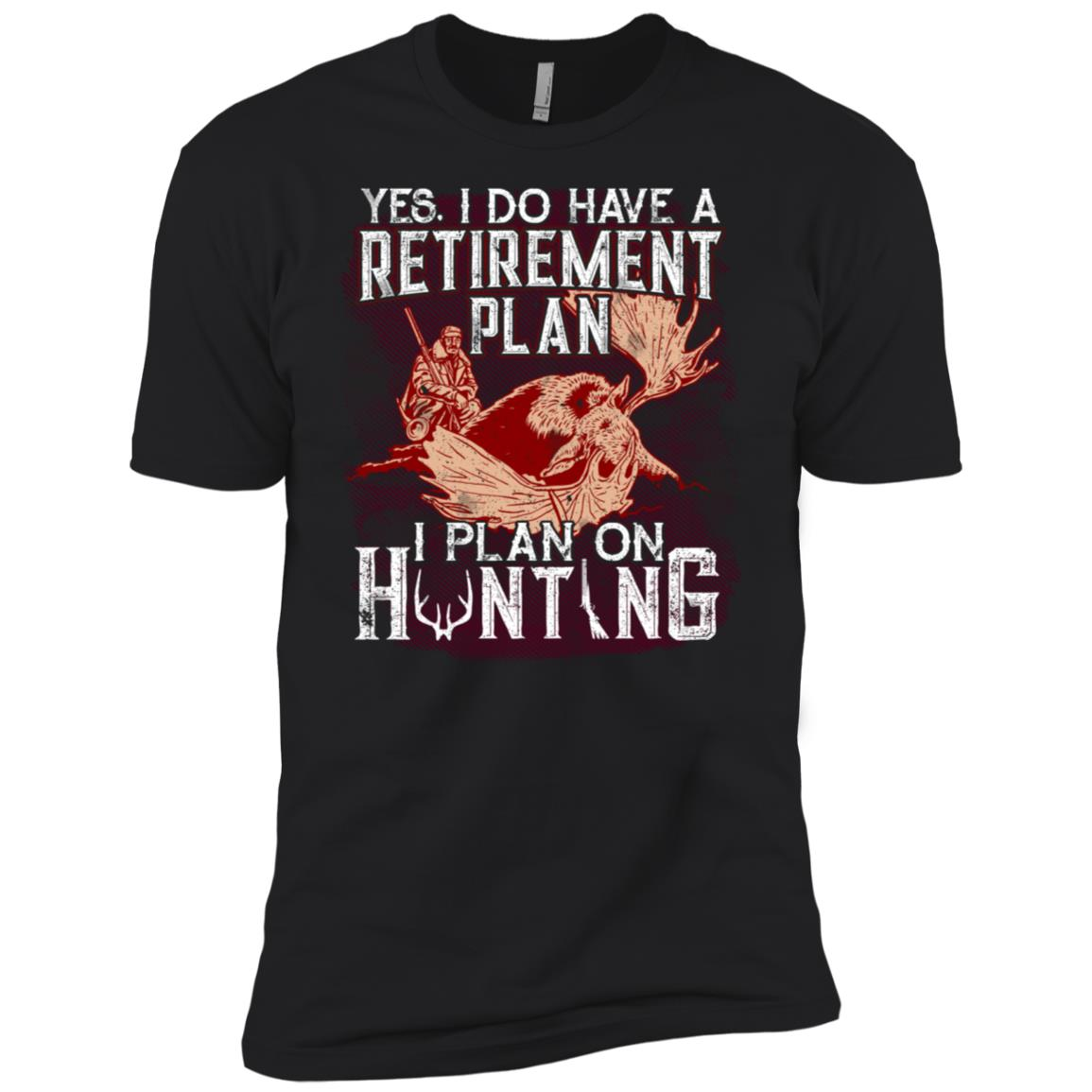 Hunting Retirement Tee I Do Have Retirement Plan Men Short Sleeve T-Shirt