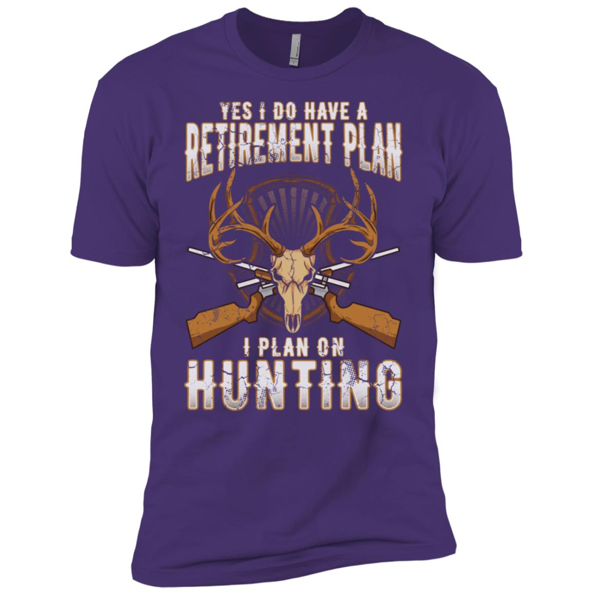 Hunting Retirement Plan Dad Men Short Sleeve T-Shirt