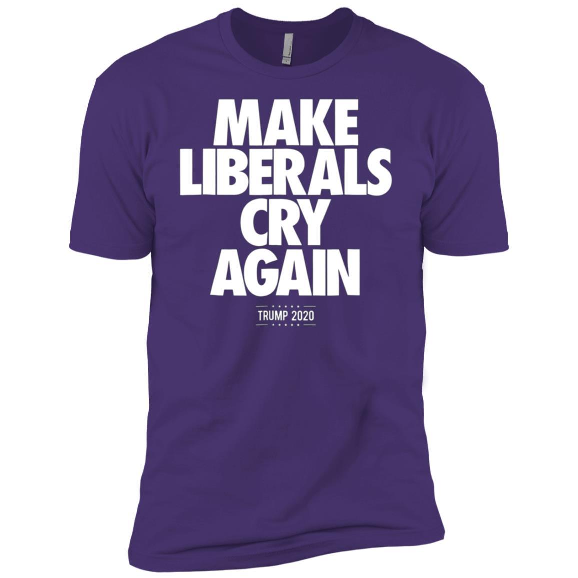 Trump Election 2020 Make Liberals Cry Again Men Short Sleeve T-Shirt