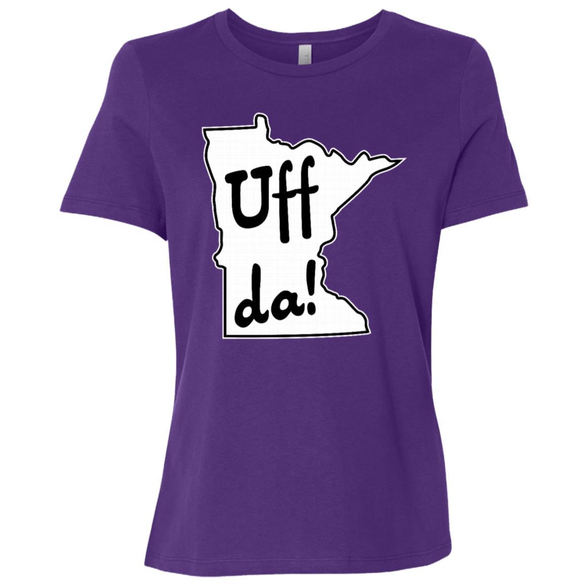 Uff Da! – Minnesota Funny Minnesotan Mn Women Short Sleeve T-Shirt