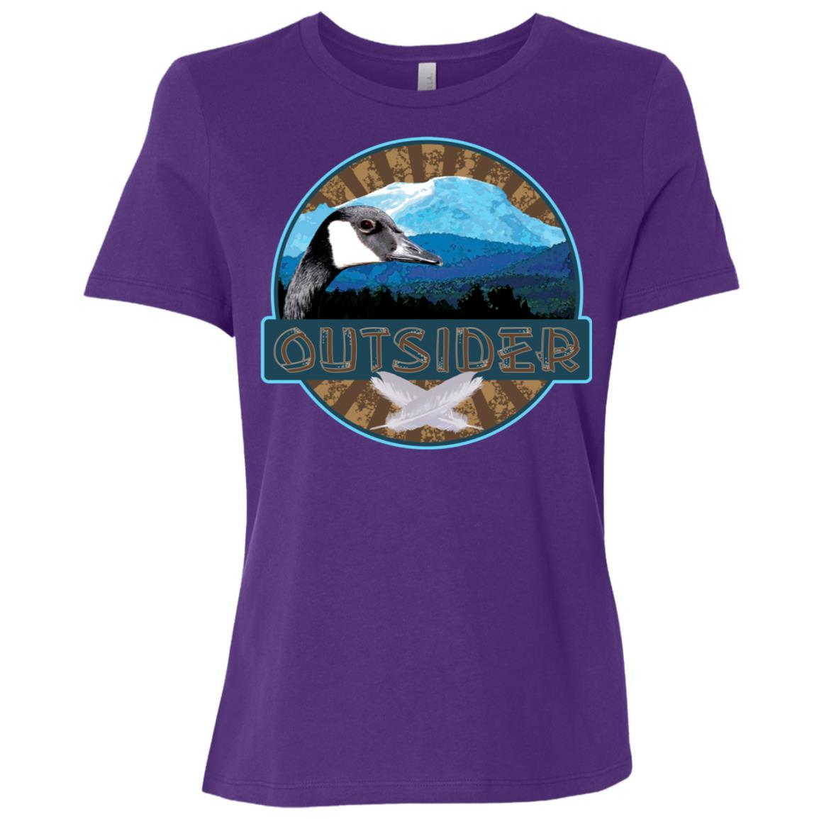 Outdoor Enthusiast d Outsider Women Short Sleeve T-Shirt
