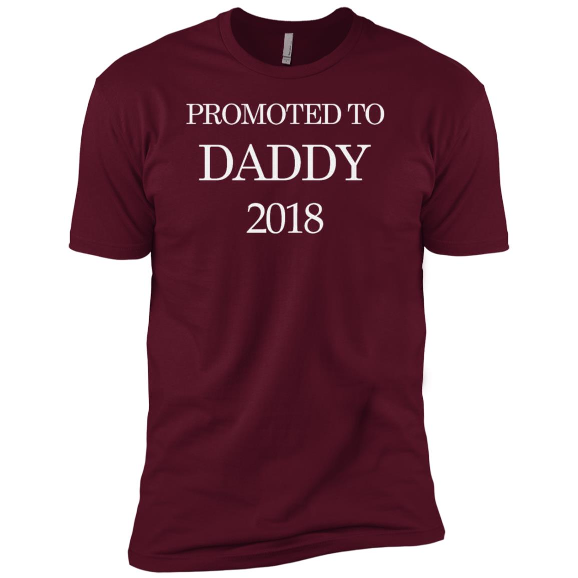 Promoted To Daddy 2018 Men Short Sleeve T-Shirt