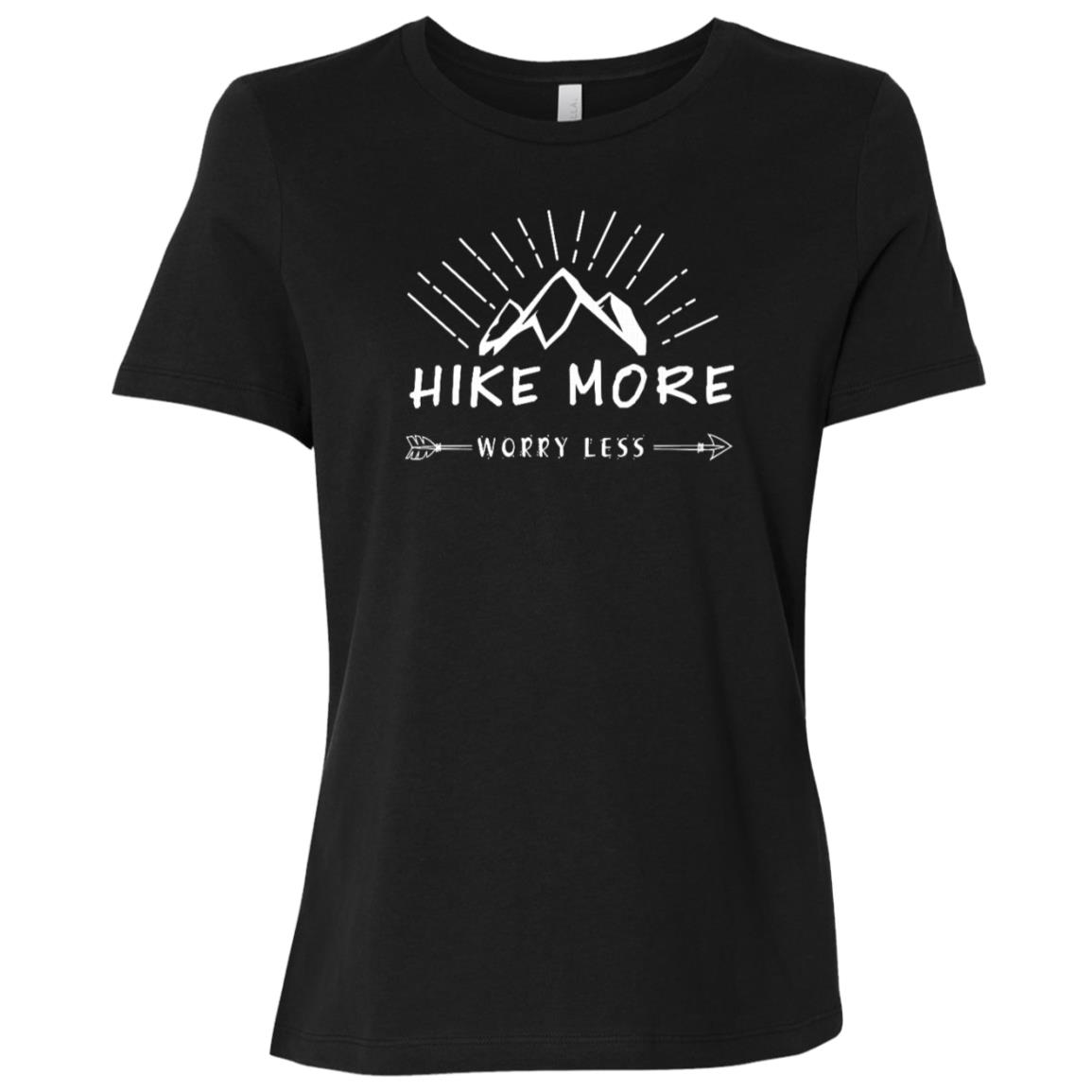 Hike More, Worry Less – Hunting Outdoor Women Short Sleeve T-Shirt