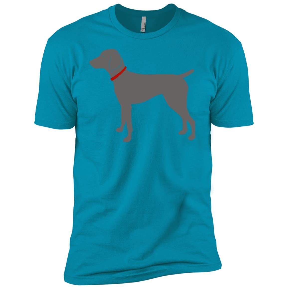 Weimaraner Dog Lover Weimaraner Hunting Dog Men Short Sleeve T-Shirt