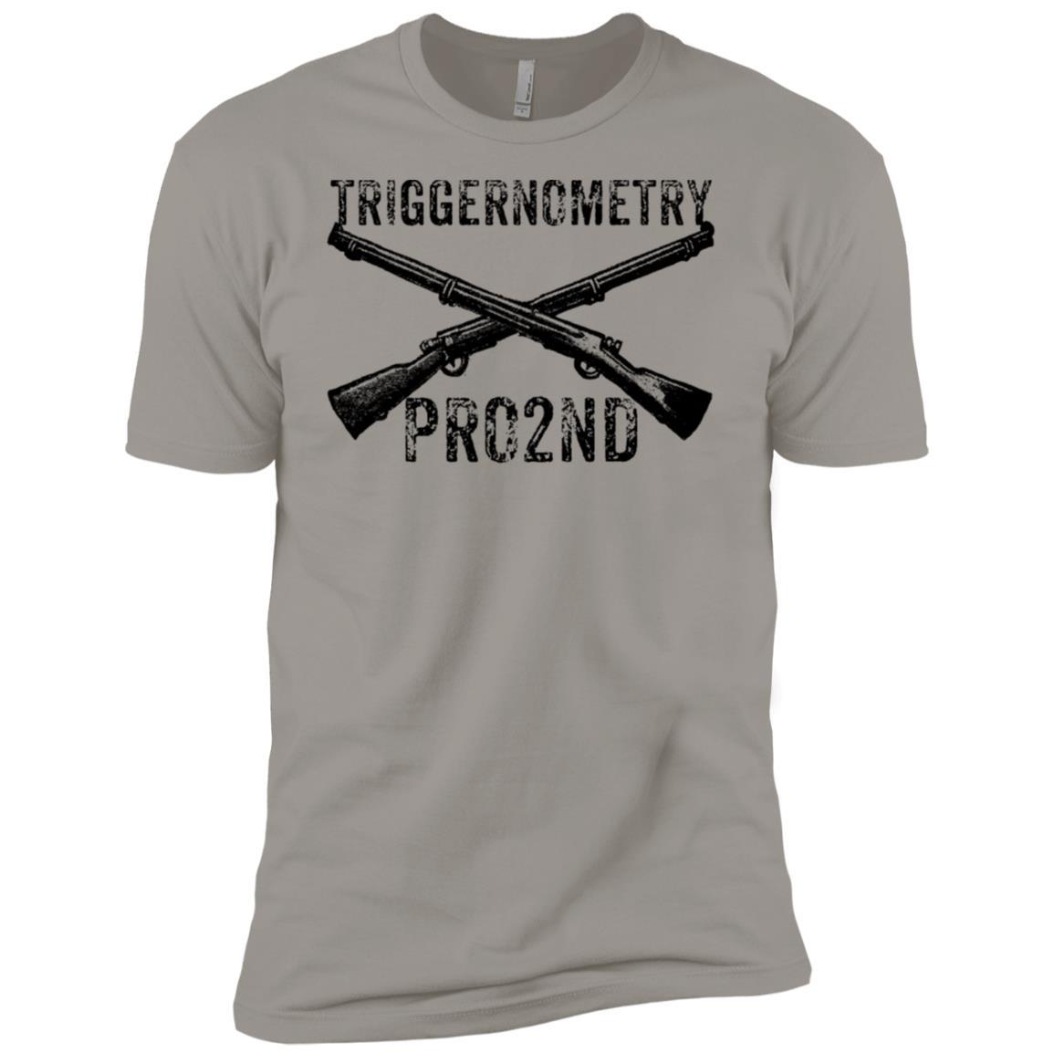 Triggernometry Pro 2nd Amendment Men Short Sleeve T-Shirt