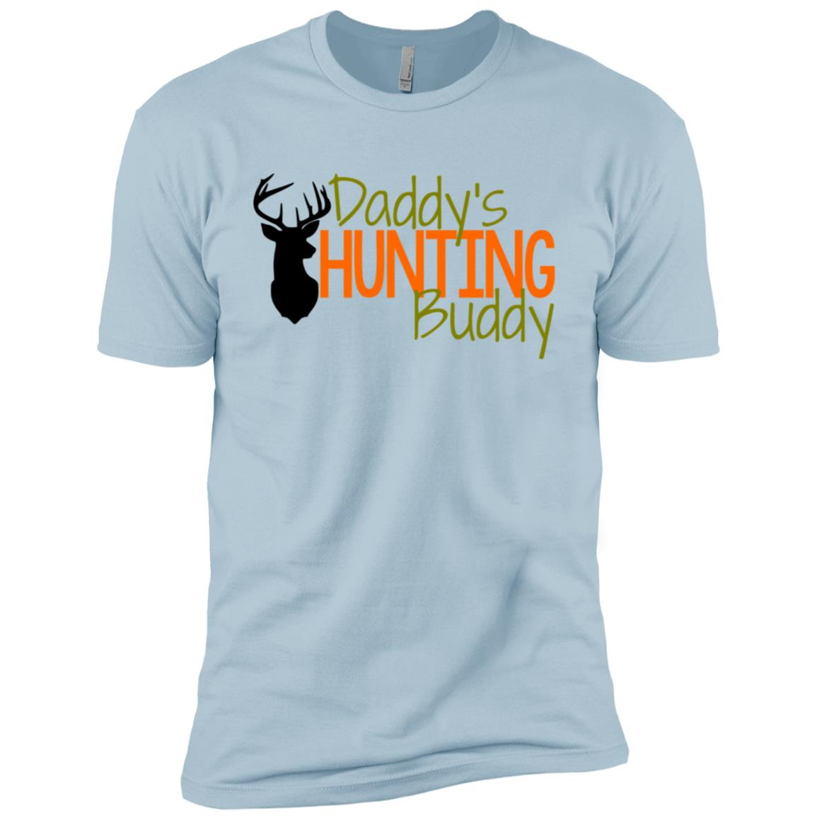 Daddy'S Hunting Buddy -Tee for Child Men Short Sleeve T-Shirt
