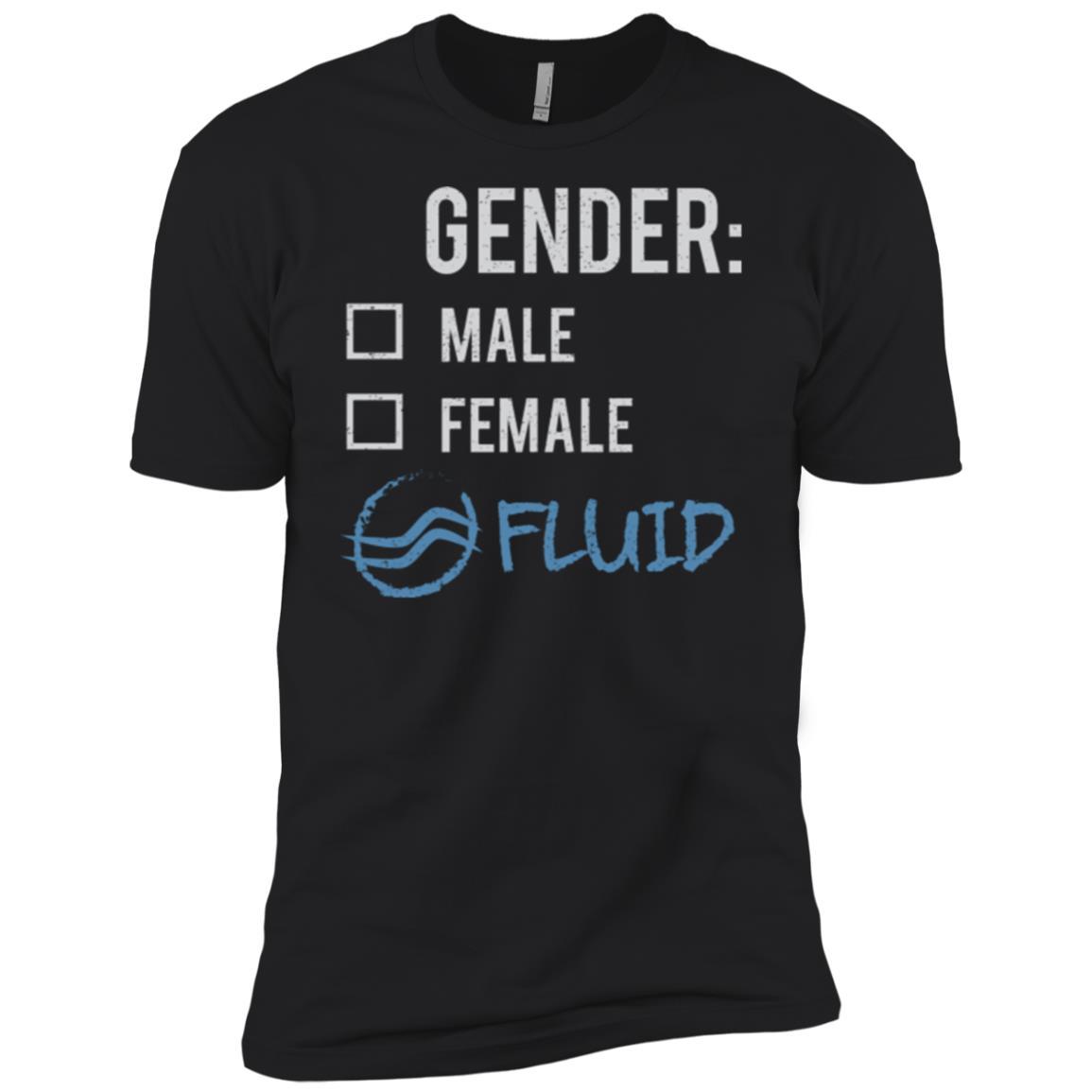 Male Female Fluid Gender Nonbinary Trans Men Short Sleeve T-Shirt