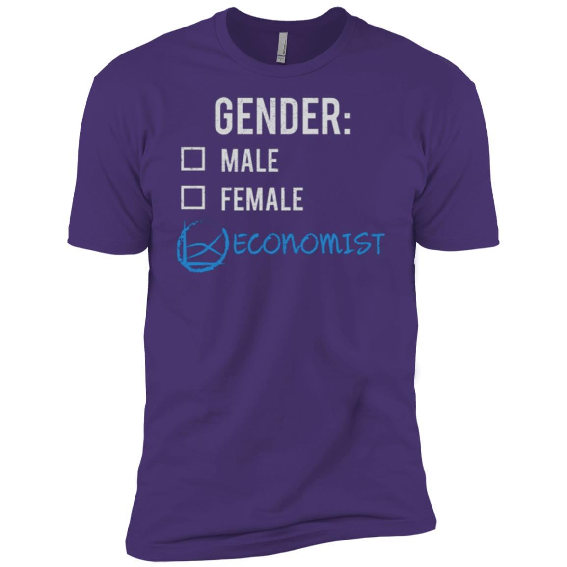 Male Female Economist Gender Nonbinary Trans Men Short Sleeve T-Shirt