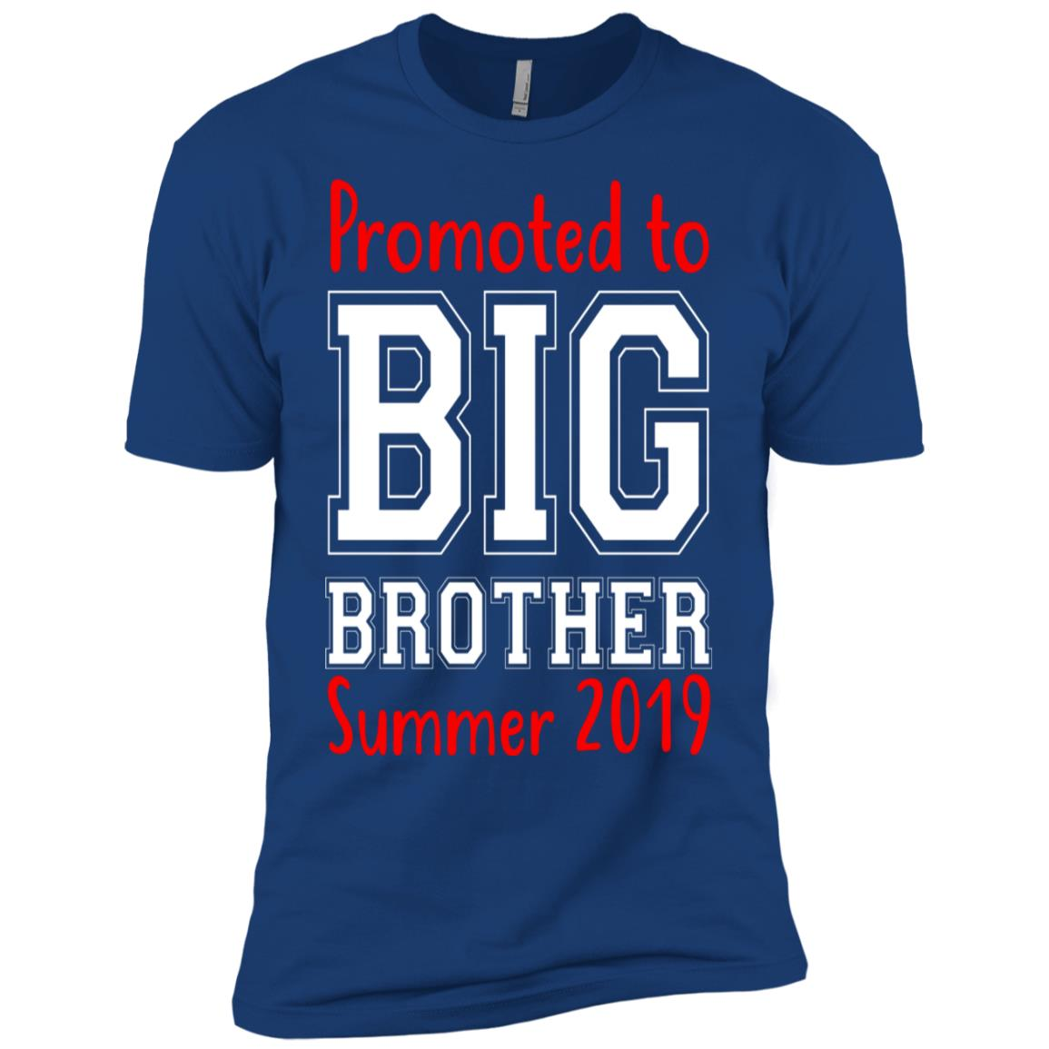 Promoted To Big Brother New Sibling Toddler-2 Men Short Sleeve T-Shirt