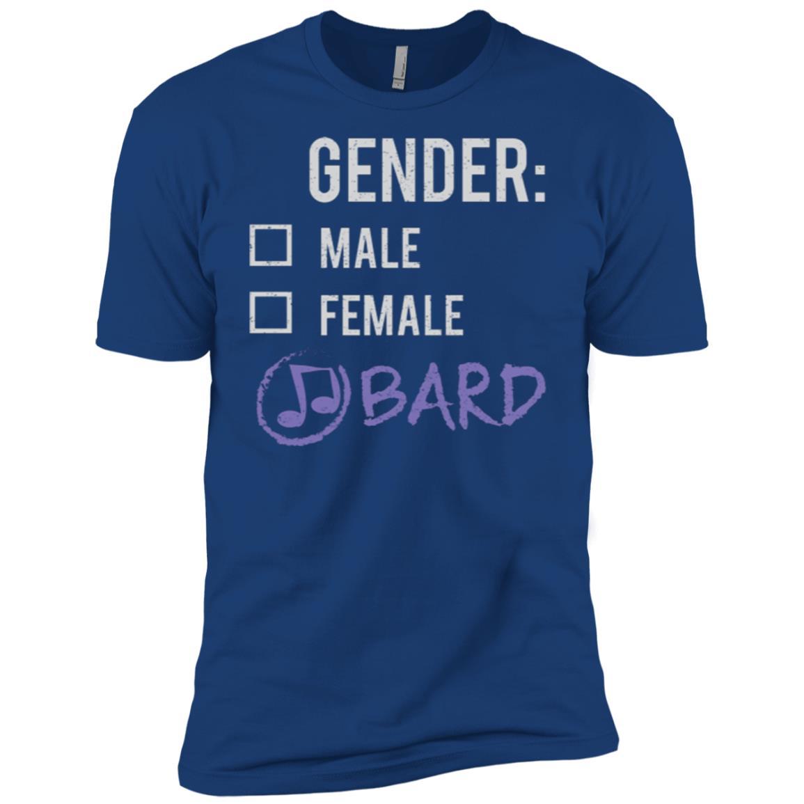 Male Female Bard Gender Nonbinary Trans Men Short Sleeve T-Shirt