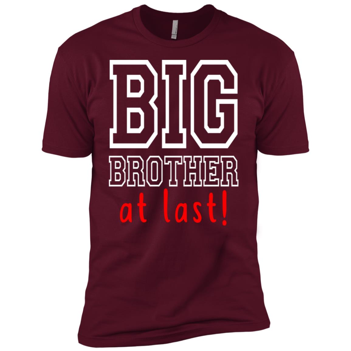 Promoted To Big Brother New Sibling Toddler Men Short Sleeve T-Shirt