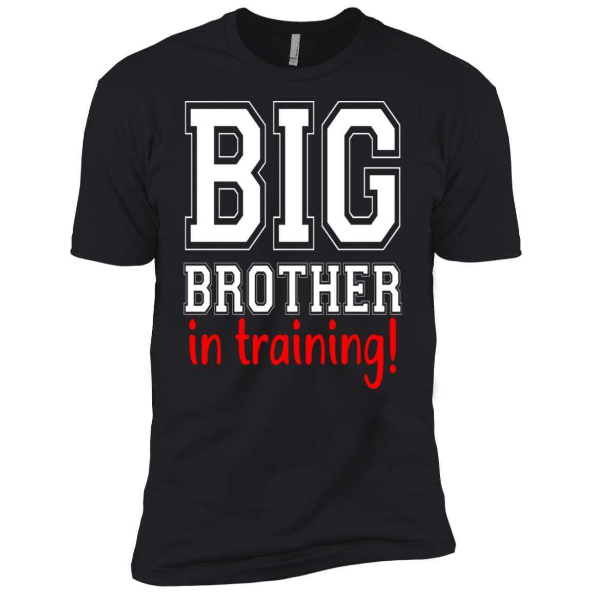 Promoted To Big Brother New Sibling Toddler-1 Men Short Sleeve T-Shirt