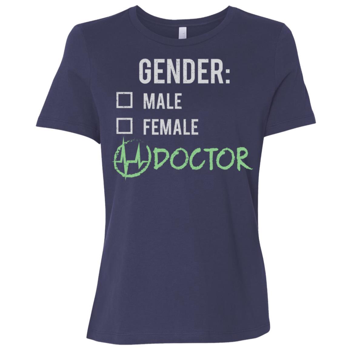 Male Female Doctor Gender Nonbinary Trans Women Short Sleeve T-Shirt