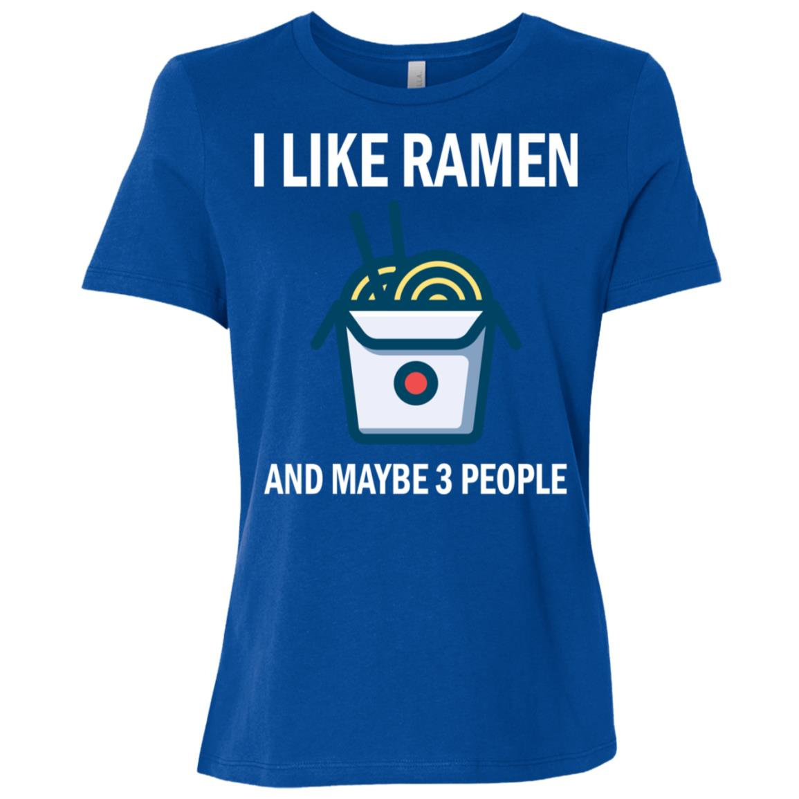 I Like Ramen Kawaii Japanese Noodle Anime Gift Women Short Sleeve T-Shirt