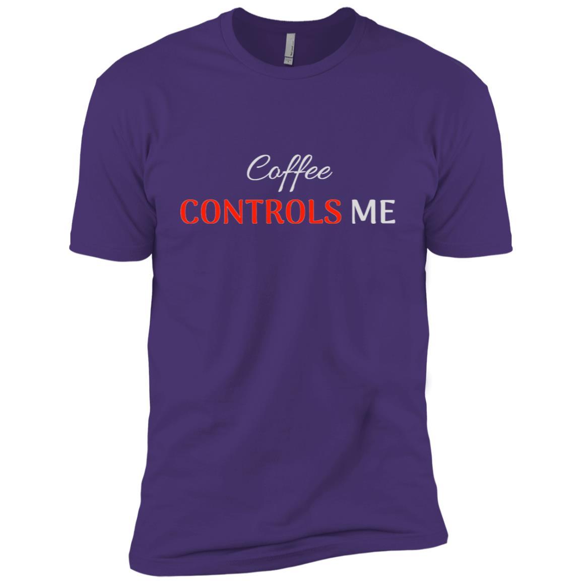 Coffee Controls Me Men Short Sleeve T-Shirt
