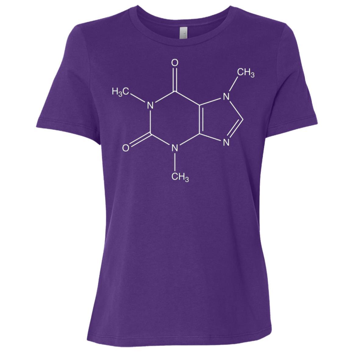 Caffeine Coffee Women Short Sleeve T-Shirt