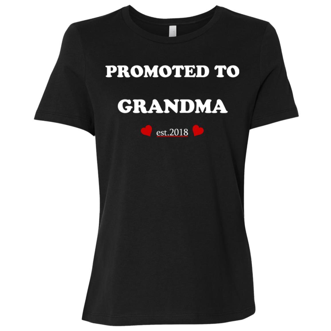 Promoted to grandma 2019 Women Short Sleeve T-Shirt