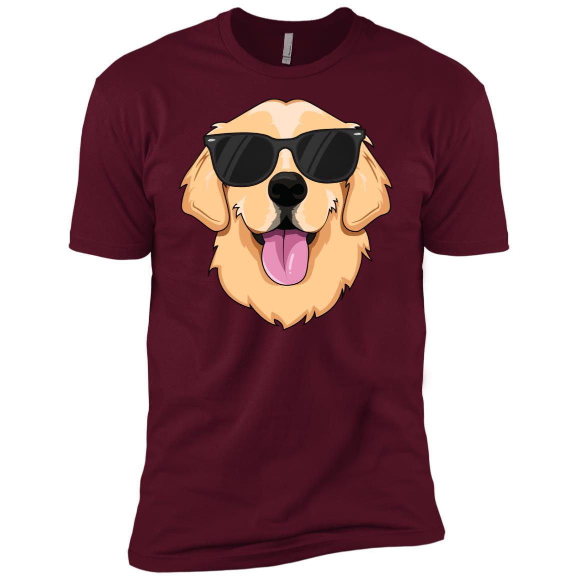Golden Retriever Kids Boys Girls Pet Men Short Sleeve T-Shirt