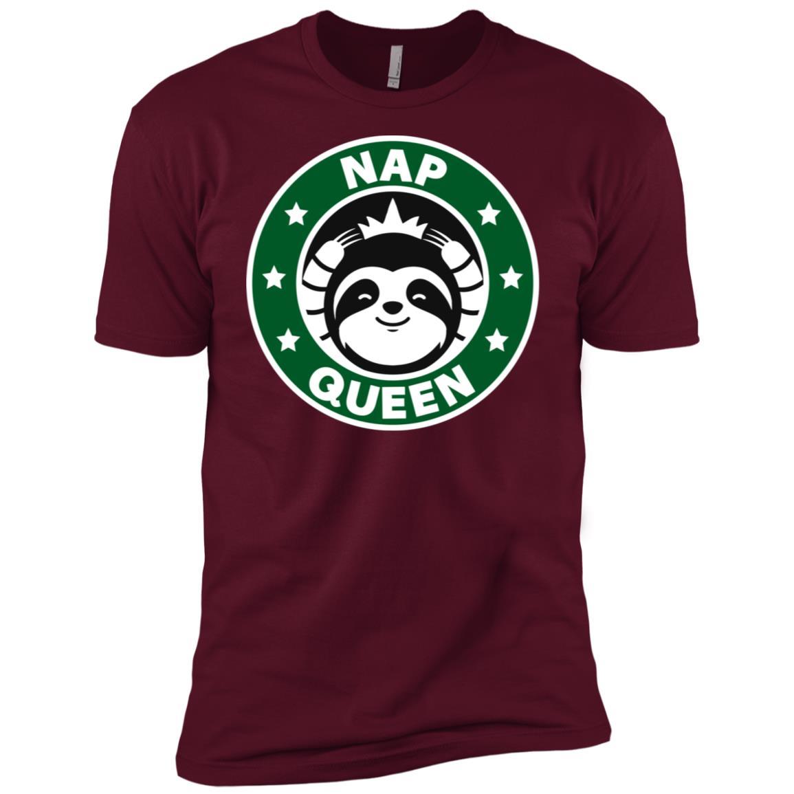 Cute Sloth Nap Queen Men Short Sleeve T-Shirt