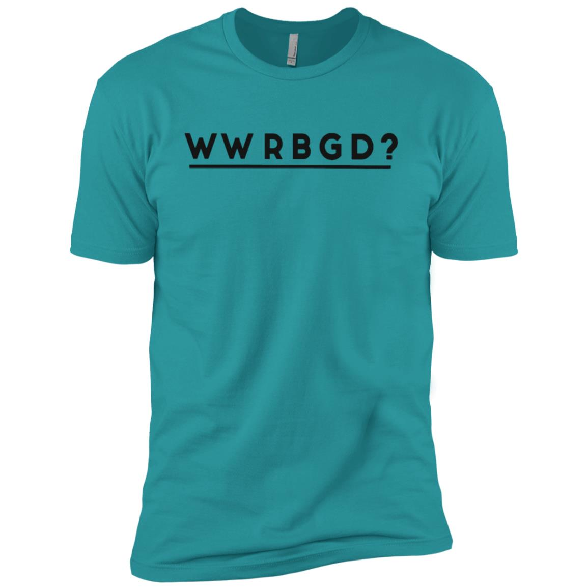 Wwrbgd Ruth Bader Ginsburg Rbg Feminist Men Short Sleeve T-Shirt