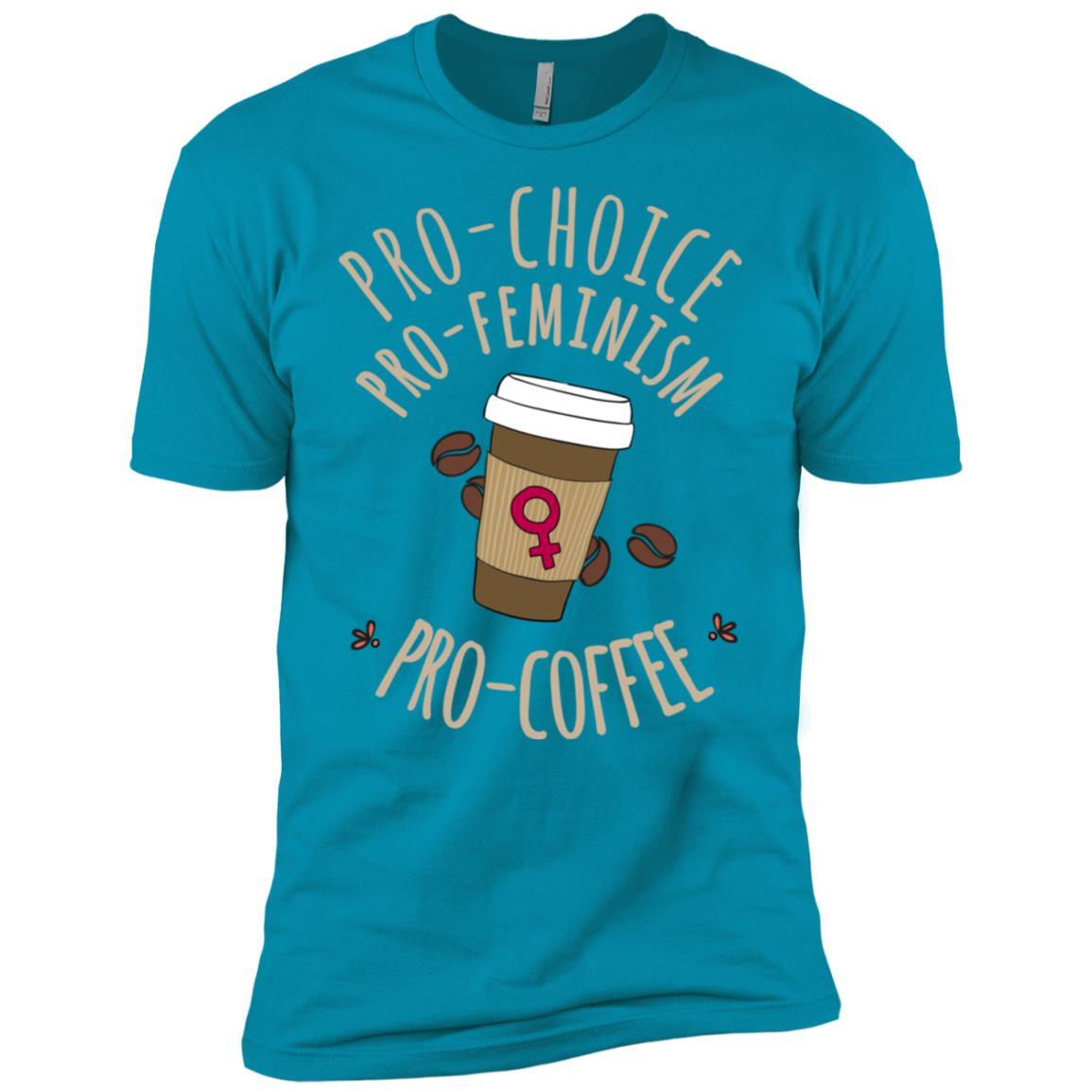Pro Choice Pro Feminism Coffee Feminist Men Short Sleeve T-Shirt