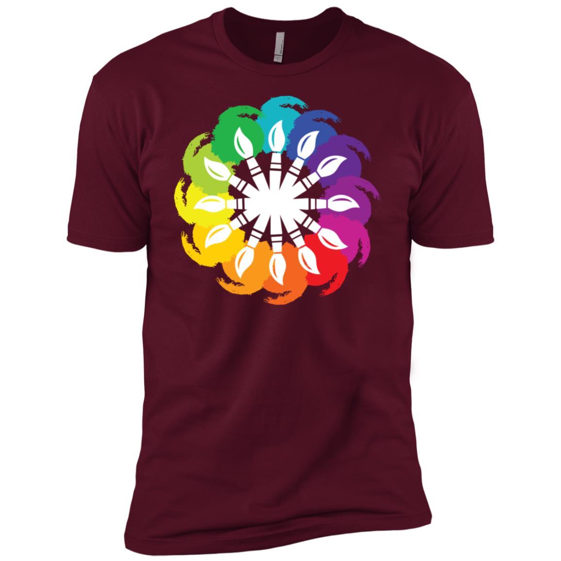 Artist Paint Brush Hobby Art Lovers Craft Gift Men Short Sleeve T-Shirt