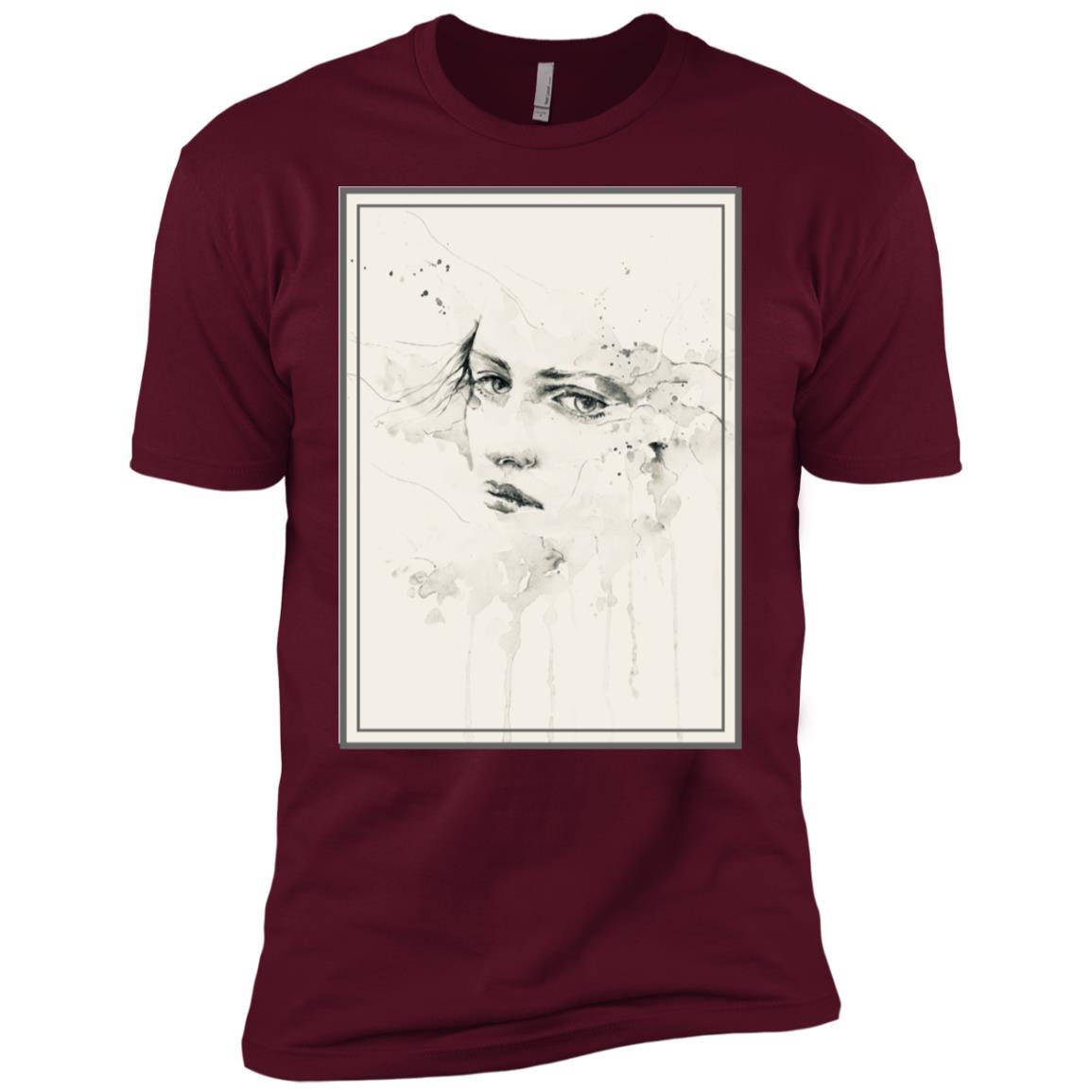 Art Women Drawing design Men Short Sleeve T-Shirt