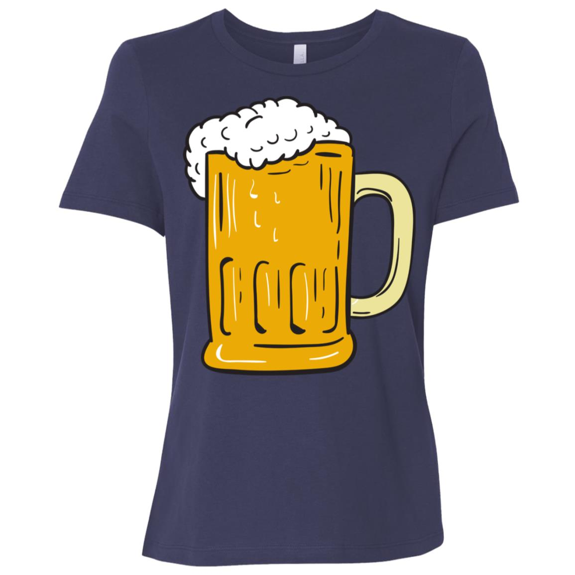 Beer Mug Drawing -Tee and tee Women Short Sleeve T-Shirt
