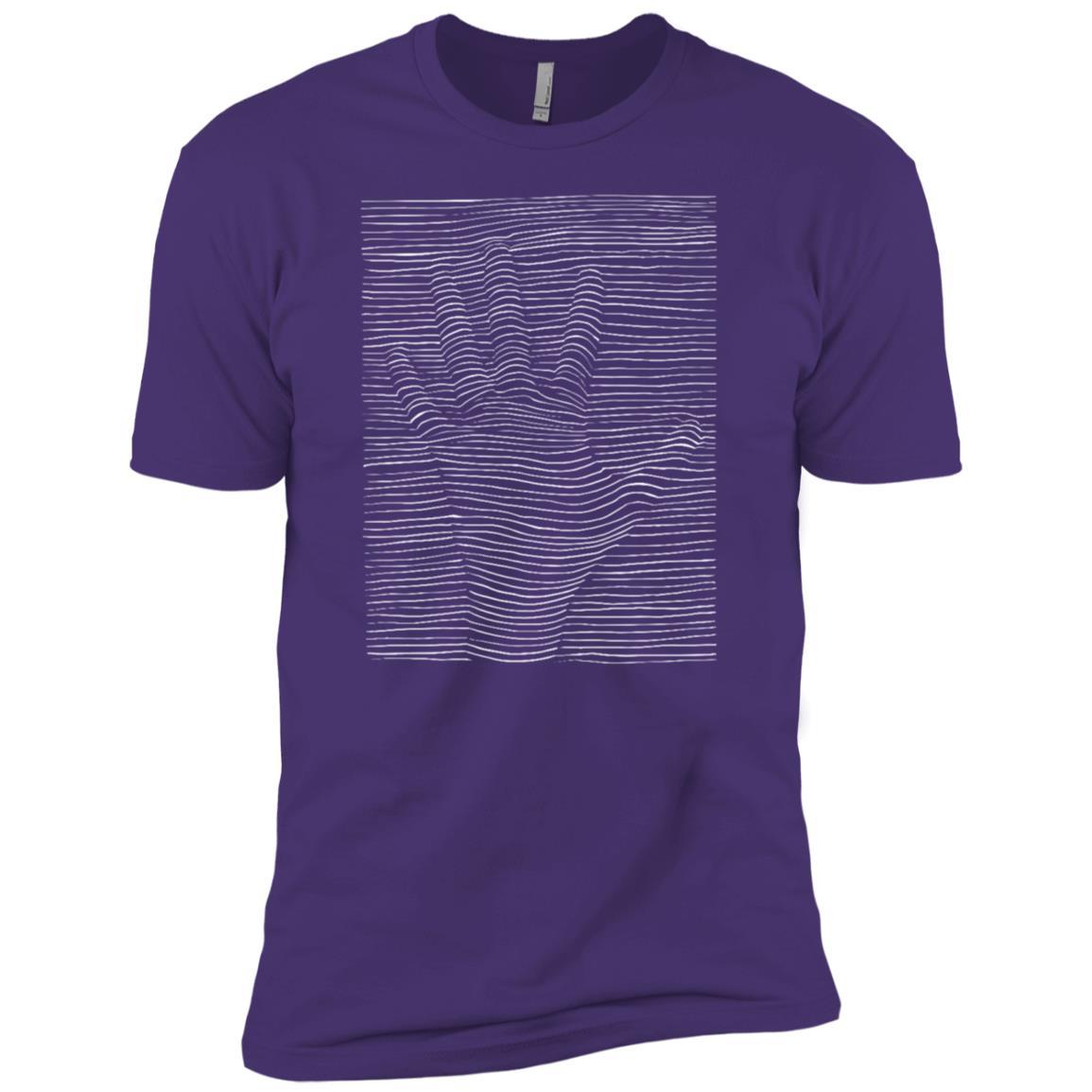 Trippy Magic Eye Hand Drawing Men Short Sleeve T-Shirt