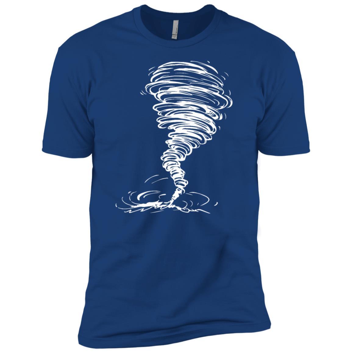 Tornado Storm Twister Hurricane Weather Men Short Sleeve T-Shirt