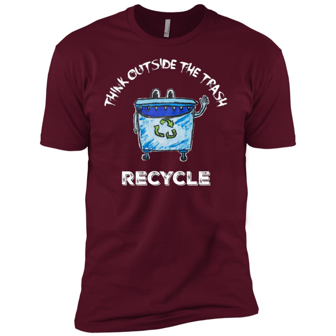 Recycling Waste Management, Environmentalist Gifts-1 Men Short Sleeve T-Shirt