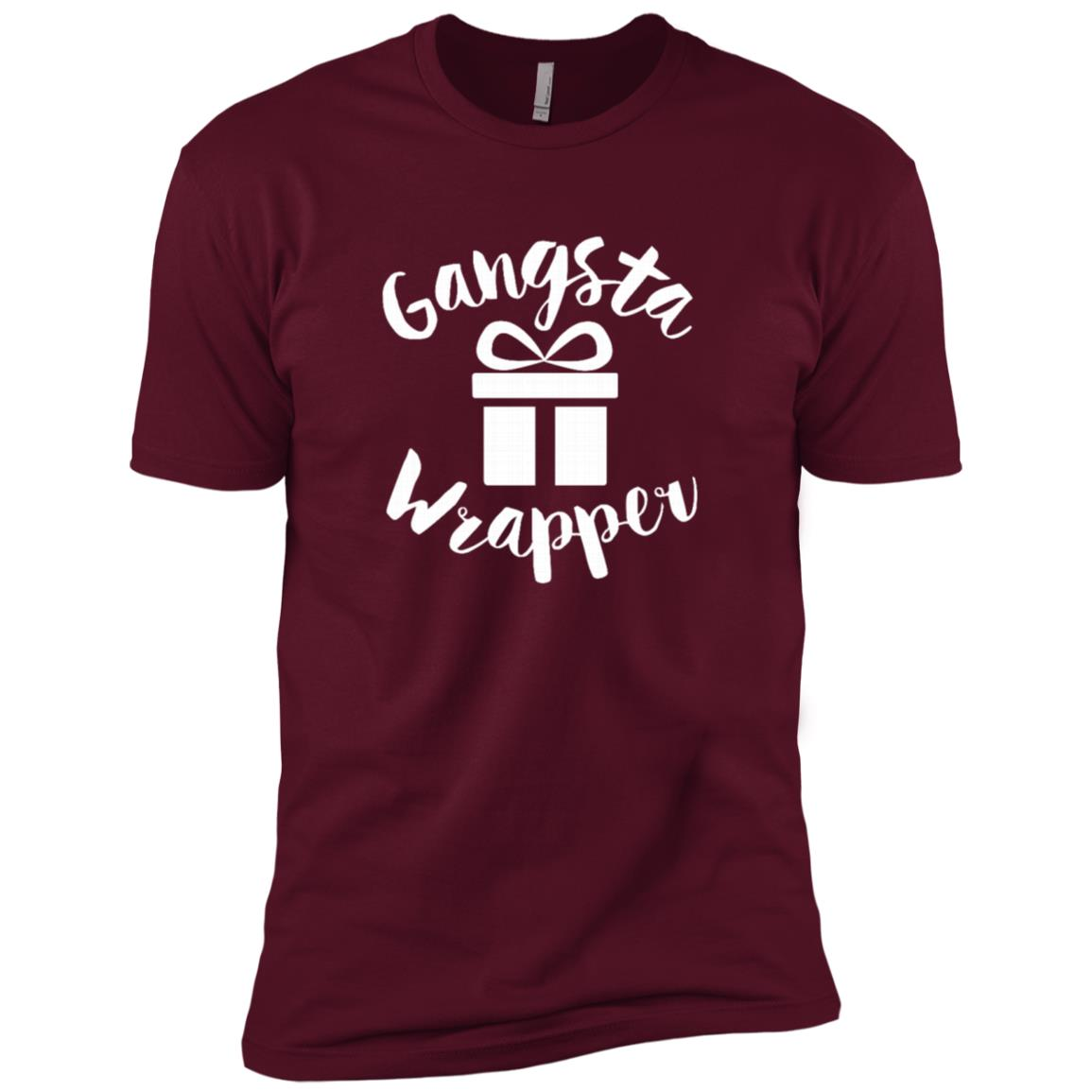 Gangsta Wrapper Rapper Christmas Gift Men Short Sleeve T-Shirt