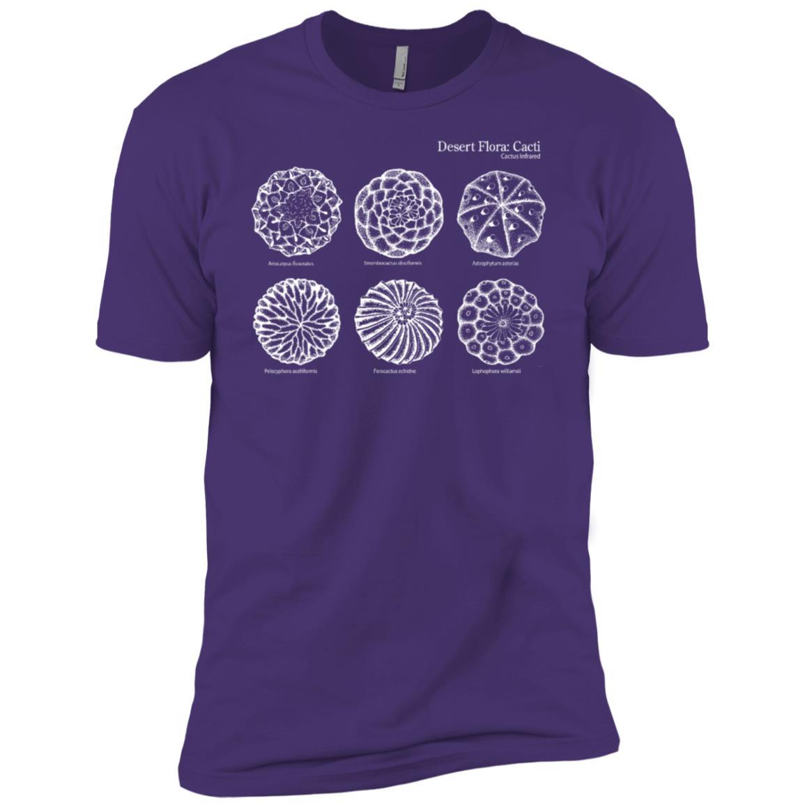 Desert Cacti, Lophophora williamsii peyote cactus 5 more Men Short Sleeve T-Shirt