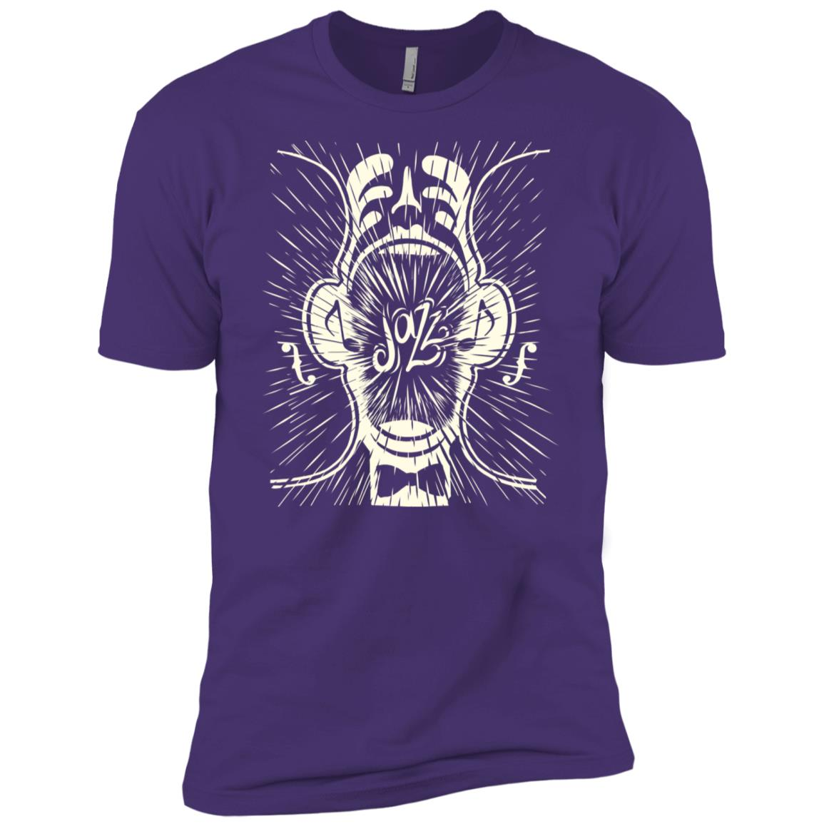 Jazz Music Men Short Sleeve T-Shirt