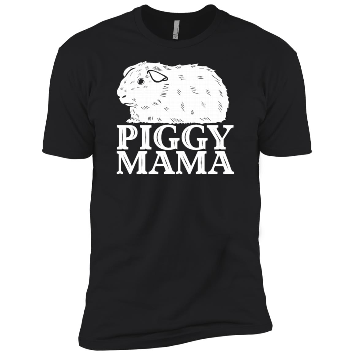 Guinea Pig Piggy Mama Cute Cavy Pet Love Men Short Sleeve T-Shirt