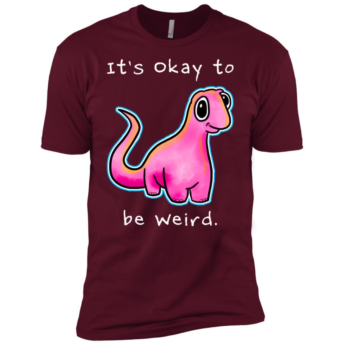 It's Okay To Be Weird by Kayleel Men Short Sleeve T-Shirt