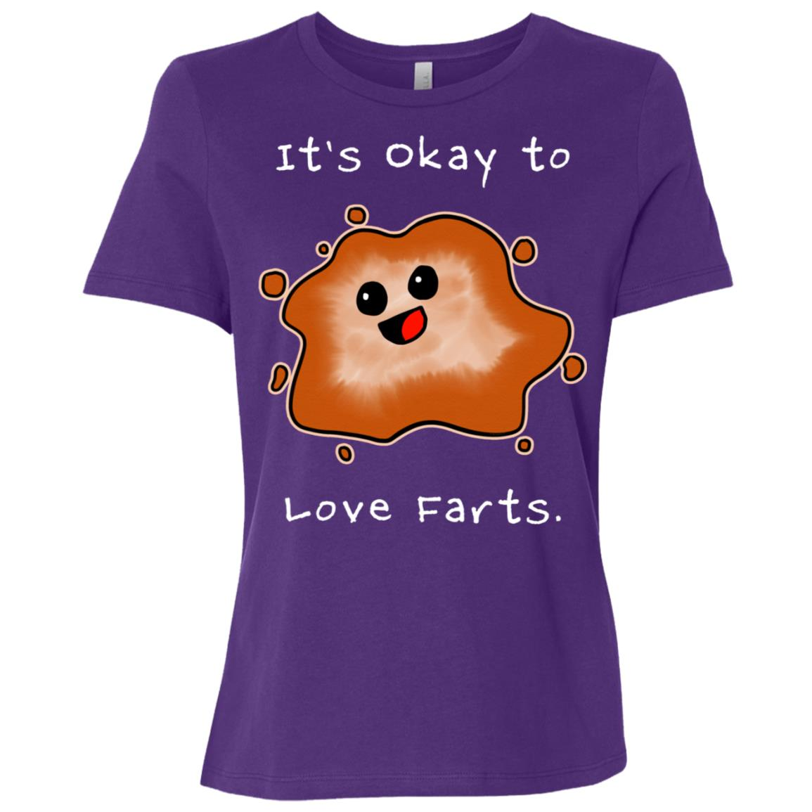 It's Okay To Love Farts Long by Kayleel Women Short Sleeve T-Shirt